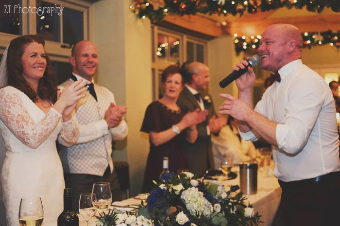 The Alma Inn Laneshawbridge Wedding, Wedding Singer Burnley, Wayne Farrow